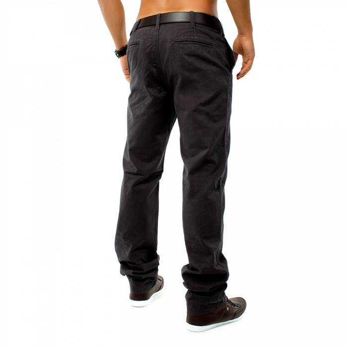 Herren Chino Hose DSN ID1146 Straight Fit   – Bild 9