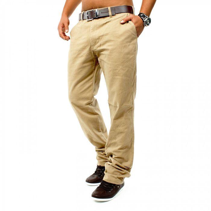 Herren Chino Hose DSN ID1146 Straight Fit – Bild 18
