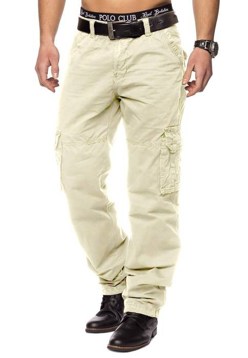 Herren Cargohose Indy Jones ID1153 Straight Fit   – Bild 14