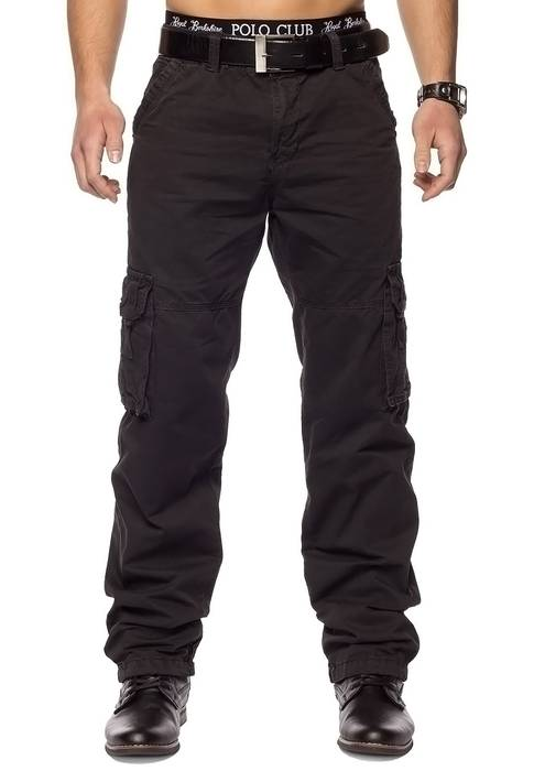 Herren Cargohose Indy Jones ID1153 Straight Fit   – Bild 2