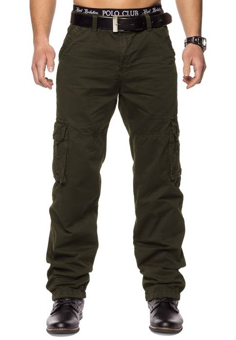 Herren Cargohose Indy Jones ID1153 Straight Fit   – Bild 6