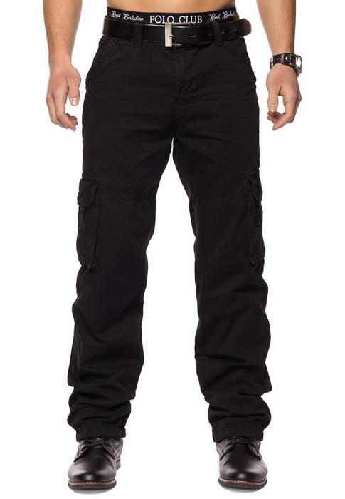 Herren Cargohose Indy Jones ID1153 Straight Fit   – Bild 10