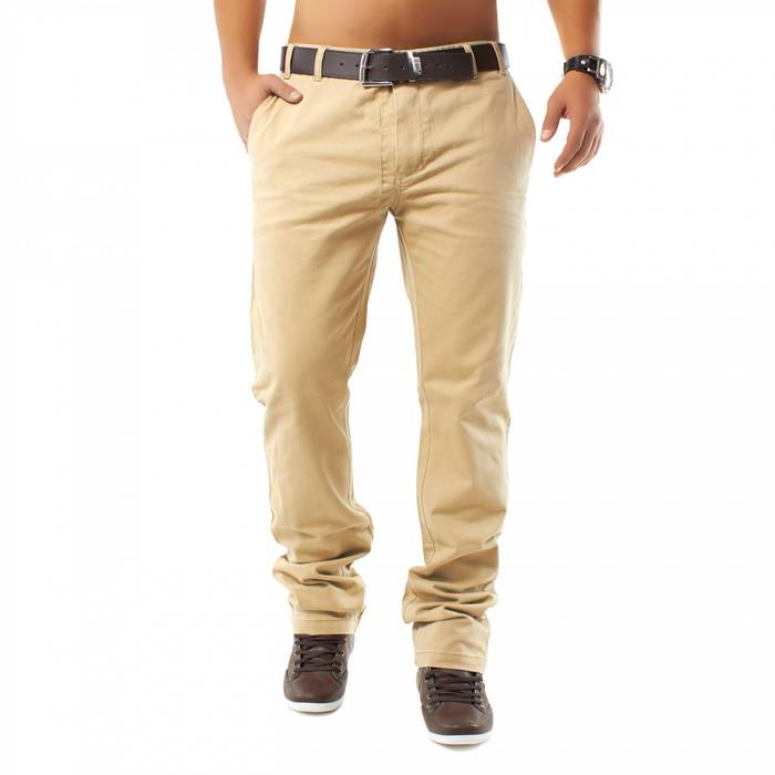 Herren Chino Hose Honey DSN ID1159 Straight Fit   – Bild 14