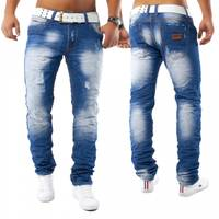 Herren Jeans Kazanan ID1161 Slim Fit (Gerades Bein)