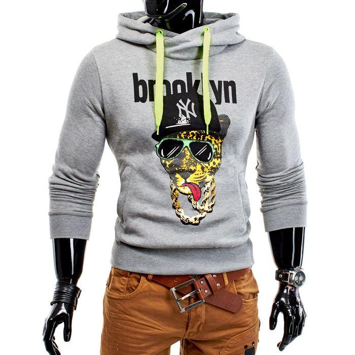 Herren & Damen Kapuzenpullover Basic Tiger Hoods ID1186 (4 Farben) – Bild 8