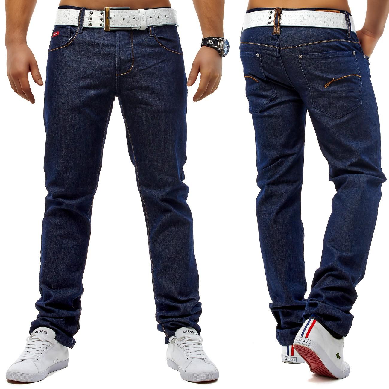 Details zu Herren Jeans Hose Vintage Dark Denim Clubwear Plaza Singapura