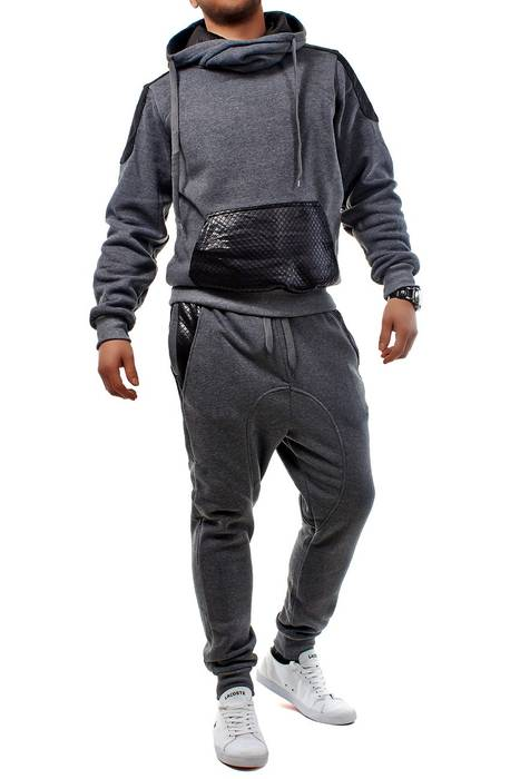 Unisex Jogginganzug Battle Defence Hero ID1201 Basic   – Bild 6