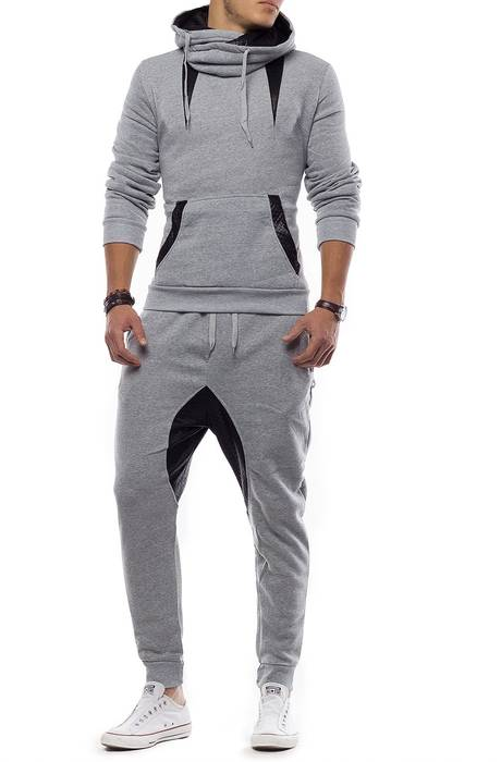 Unisex Jogginganzug Battle Defence Hero ID1201 Basic   – Bild 17