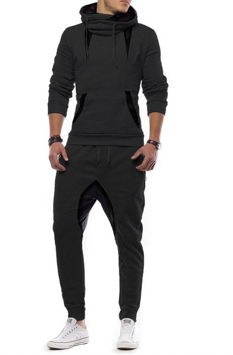 Unisex Jogginganzug Battle Defence Hero ID1201 Basic   – Bild 20