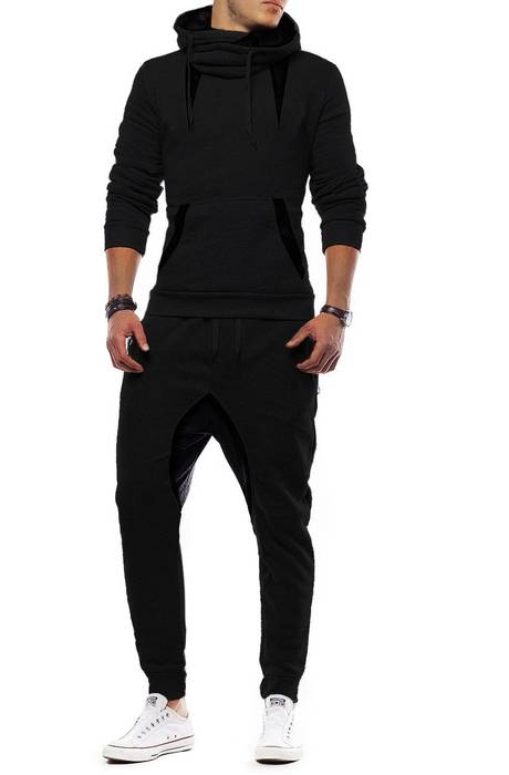 Unisex Jogginganzug Battle Defence Hero ID1201 Basic   – Bild 24