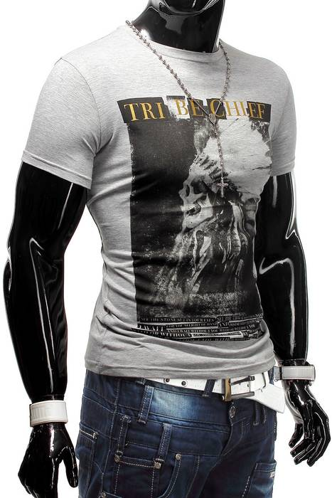 Herren T-Shirt Tribe Chief ID1238   – Bild 4