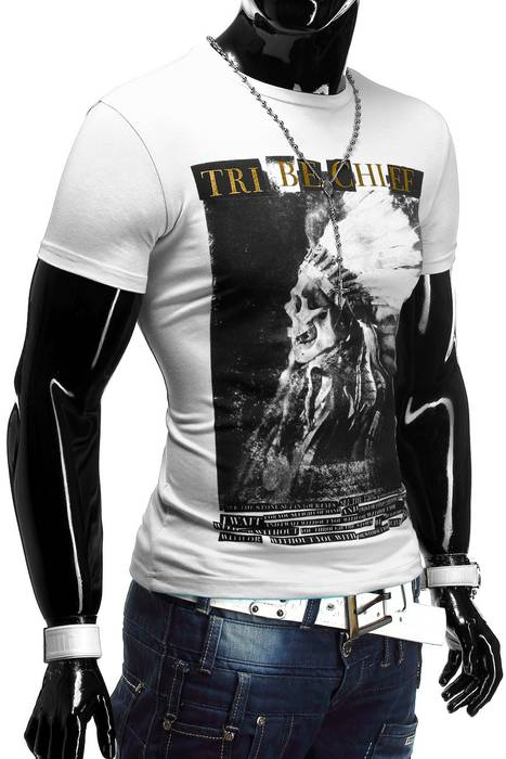 Herren T-Shirt Tribe Chief ID1238   – Bild 15