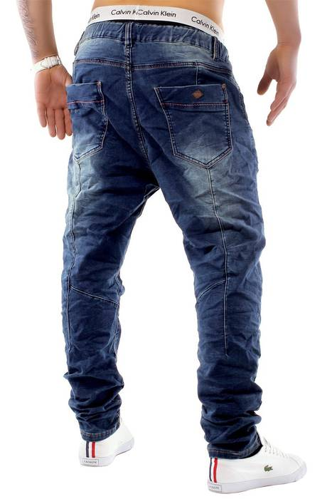 Urban Surface Herren Jogg Jeans Haremshose Denim Baggy Pants H1242 – Bild 23