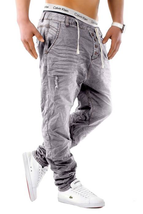 Urban Surface Herren Jogg Jeans Haremshose Denim Baggy Pants H1242 – Bild 14