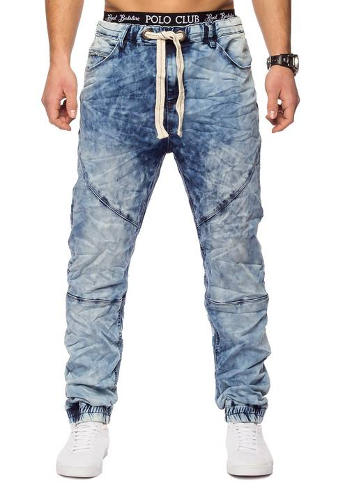 Urban Surface Herren Jogg Jeans Haremshose Denim Baggy Pants H1242 – Bild 18