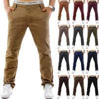 Herren Chino Hose MC Trendstr Slim Fit H1244