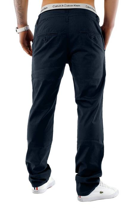 Herren Chino Hose Sommerfarben H1245 Straight Fit   – Bild 8