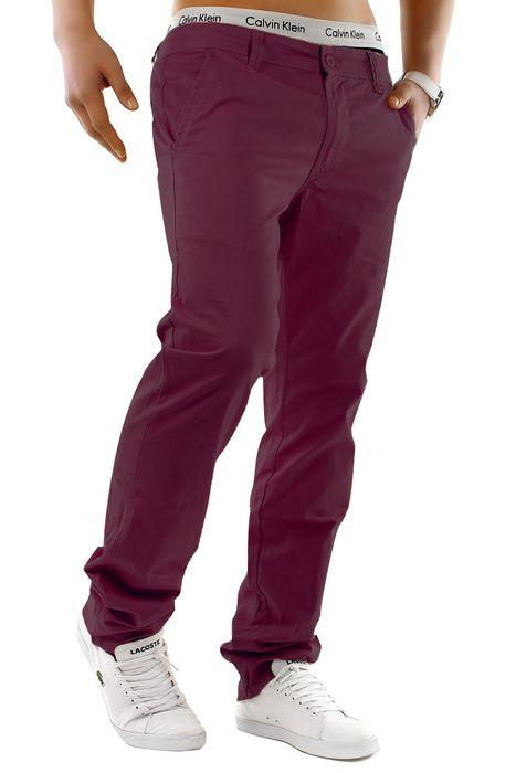 Herren Chino Hose Stretch Jeans Straight H1245 – Bild 25