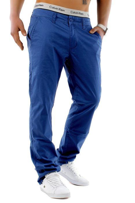 Herren Chino Hose Stretch Jeans Straight H1245 – Bild 5