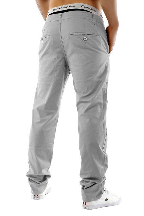 Herren Chino Hose Stretch Jeans Straight H1245 – Bild 10