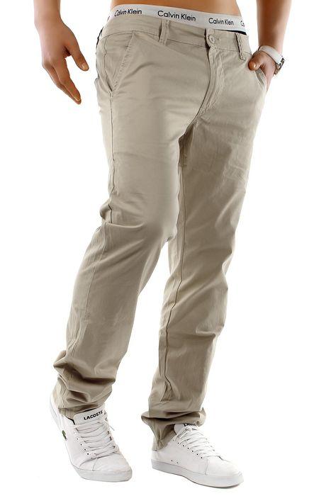 Herren Chino Hose Stretch Jeans Straight H1245 – Bild 13