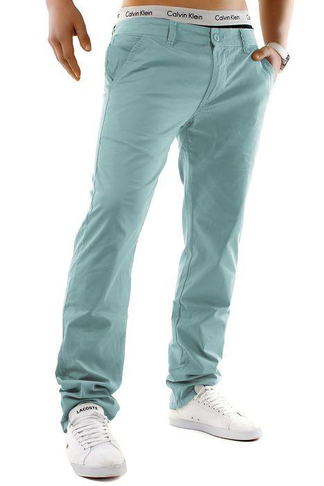 Herren Chino Hose Stretch Jeans Straight H1245 – Bild 15