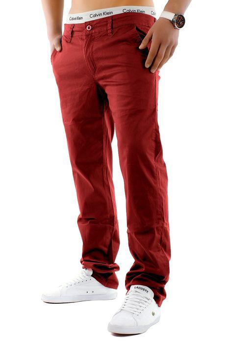 Herren Chino Hose Stretch Jeans Straight H1245 – Bild 17