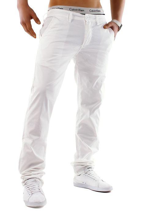 Herren Chino Hose Stretch Jeans Straight H1245 – Bild 21
