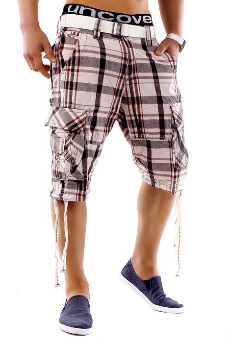 Herren Shorts Summer Smile H1249 inkl Gürtel – Bild 2
