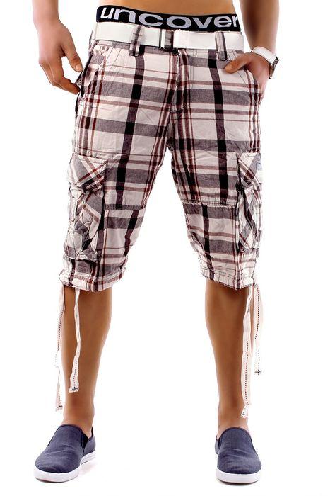 Herren Shorts Summer Smile H1249 inkl Gürtel – Bild 4