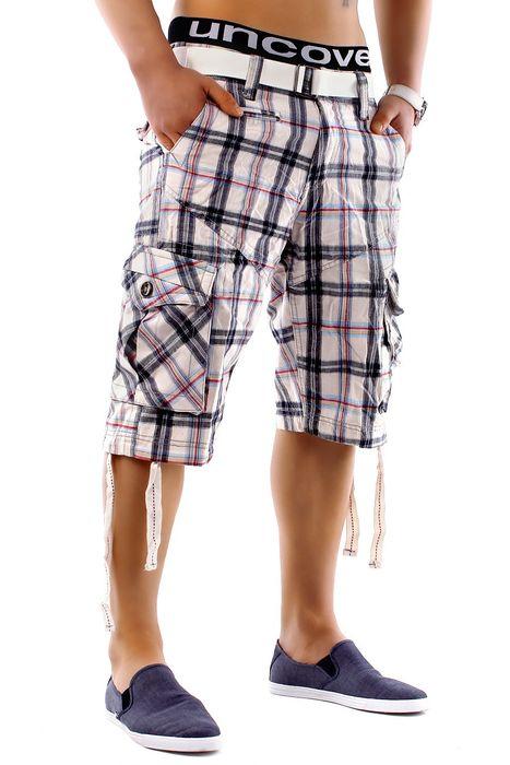 Herren Shorts Summer Smile H1249 inkl Gürtel – Bild 9