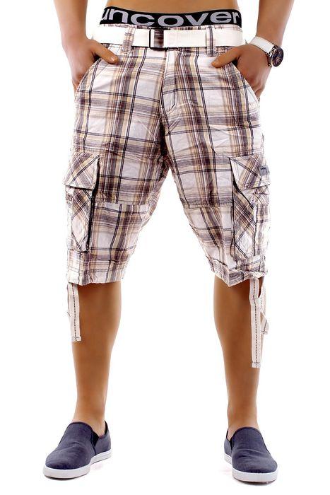 Herren Shorts Summer Smile H1249 inkl Gürtel – Bild 12
