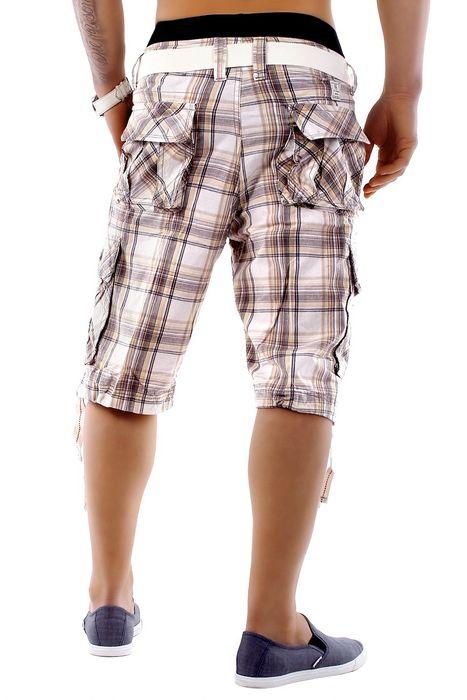 Herren Shorts Summer Smile H1249 inkl Gürtel – Bild 13