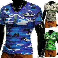 T-Shirt Fashion Camouflage Army ID1255