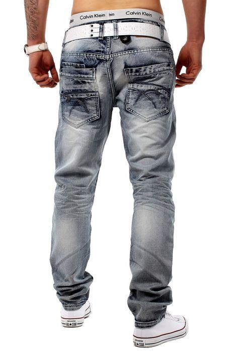 Jeans Grey Trace grau H1274 – Bild 3