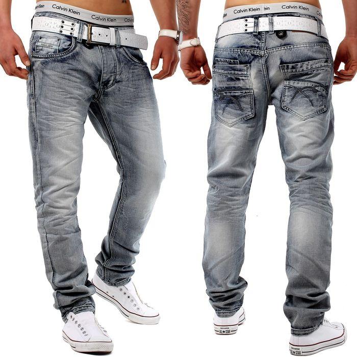 Jeans Grey Trace grau H1274