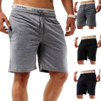 Herren Sweat-Shorts | (Casual Fit) Kurze Bermuda Sommer Cargo Basic Short Freizeit Capri Hose Kurze Sweat-Pant Walkshort, Unifarben | H1285 in Markenqualität