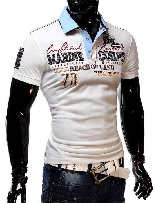 MC Herren Poloshirt Marine Navigator H1289 Polo Hemd – Bild 8