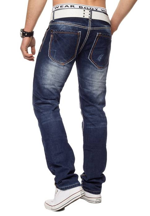 Herren destroyed Jeans Medford ID1333 Regular Fit – Bild 5