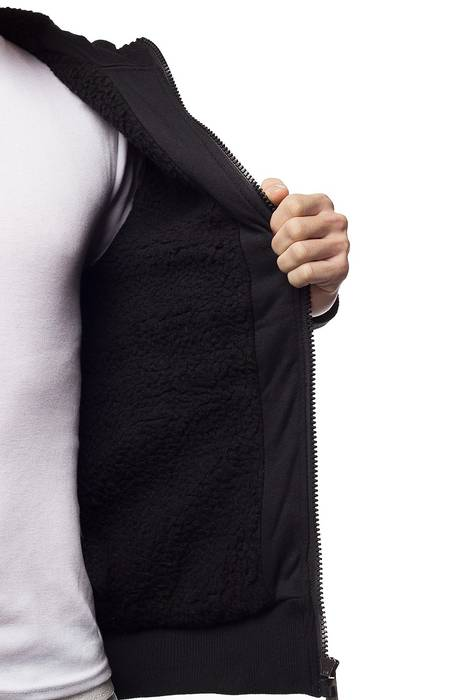 Herren Jacke Übergangsjacke mit Kapuze Ottawa ID1343 – Bild 4