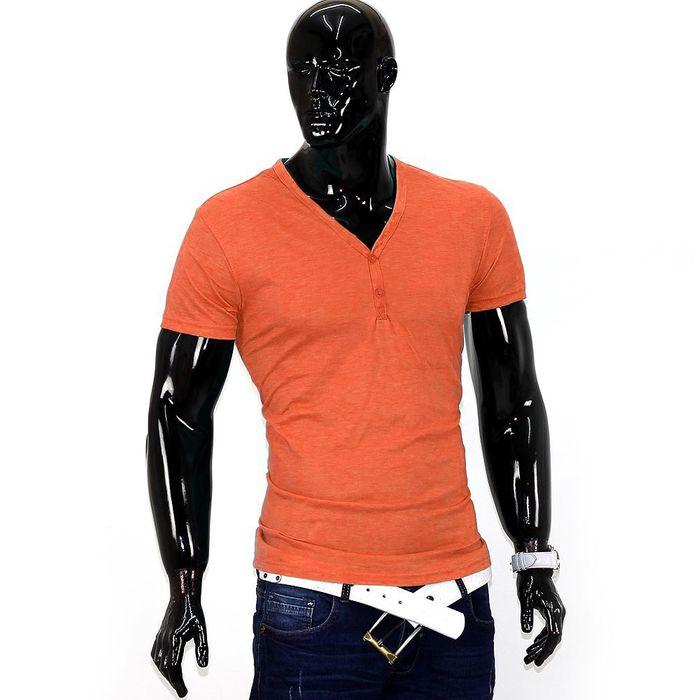 Herren T-Shirt Basic Saints ID1353   – Bild 3