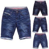 Herren JoggJeans Shorts Kingdom ID1418 Gummibund