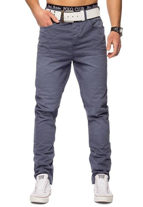 Herren Chino Elyas ID1421 low crotch – Bild 6