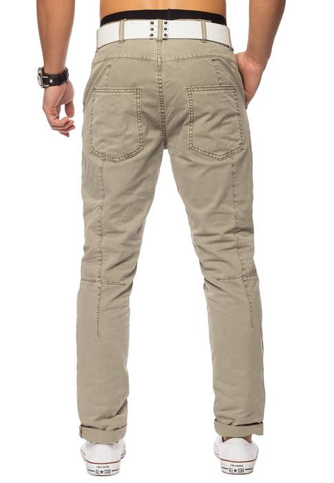 Herren Chino Elyas ID1421 low crotch – Bild 12