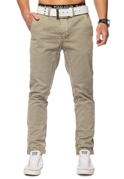 Herren Chino Elyas ID1421 low crotch – Bild 10