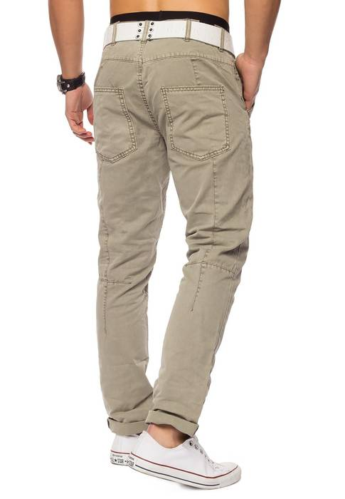 Herren Chino Elyas ID1421 low crotch – Bild 13