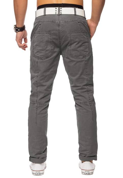 Herren Chino Elyas ID1421 low crotch – Bild 16