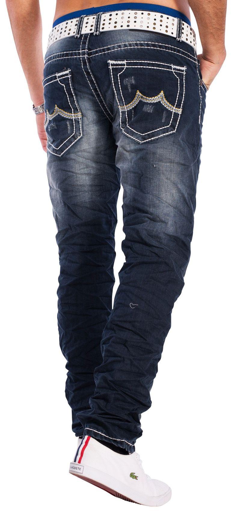 herren jeans turin wei e ziern hte 1431. Black Bedroom Furniture Sets. Home Design Ideas