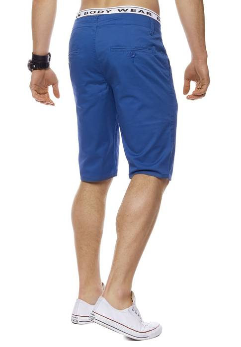 Herren Bermuda Shorts Kurze Chino Hose Basic Capri Walkshort H1442 – Bild 2