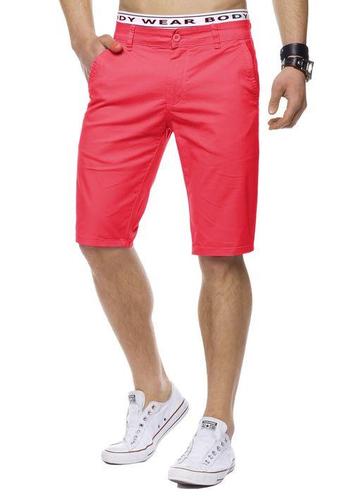 Herren Bermuda Shorts Kurze Chino Hose Basic Capri Walkshort H1442 – Bild 13